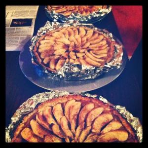 torte in triplicate